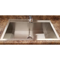 Mirabelle Single Bowl Stainless Steel Sink