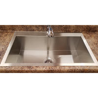 Mirabelle Single Bowl Stainless Steel Sink
